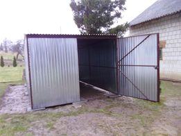 WZMACNIANE garaże blaszane blaszaki garaż blaszany wiaty