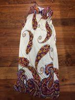 Sukienka letnia bawełniana maxi