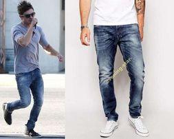 DIESEL TEPPHAR W32 L34 32/34 rurki ZAC EFRON 31/34 W31 thavar jeansy