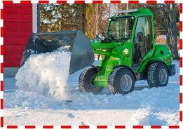 Мини трактор или мини погрузчик? Универсальный AVANT (Финляндия)