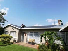 Services- Supply and repairs to all types of roofs.