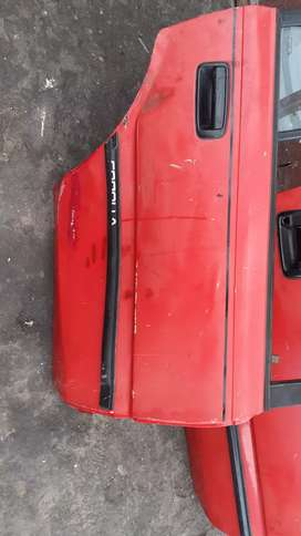 Toyota bubble doors and bootlid