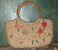 Сумка плетена
