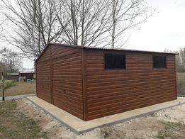 Blaszaki, garaże blaszane, domki ogrodowe
