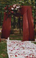 Арка, прищепки, фотозона и декор на свадьбу