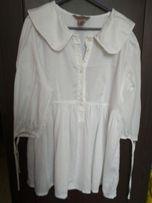 Bluzka biała koszula H&M