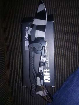 Ear phones   and Columbia USA super knife   and speaker for car