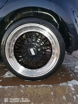 BBS Mags and 205 Tyres 40 R17