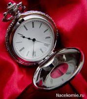 007 = Журнал - Коллекционные карманные часы №007 - Прозрачные часы