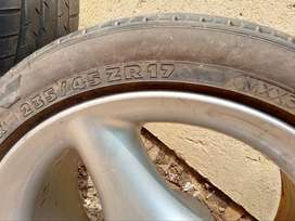 Antera 17 inch Rims and tyres