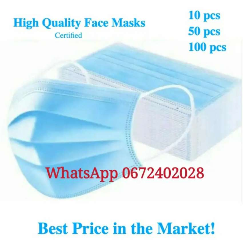 R6 EACH 3ply medical use face mask 0