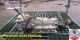 IMPORTED USED MITSUBISHI 4A30 MANUAL GEARBOX FOR SALE AT MYM AUTOWORLD