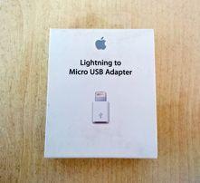 Коробка от адаптера Apple Lightning to Micro USB Adapter