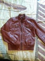Куртка под кожу, пиджак.