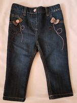 Spodnie jeansowe 80 cm