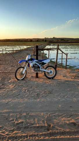 Yamaha 2014 yz 250f in good condition