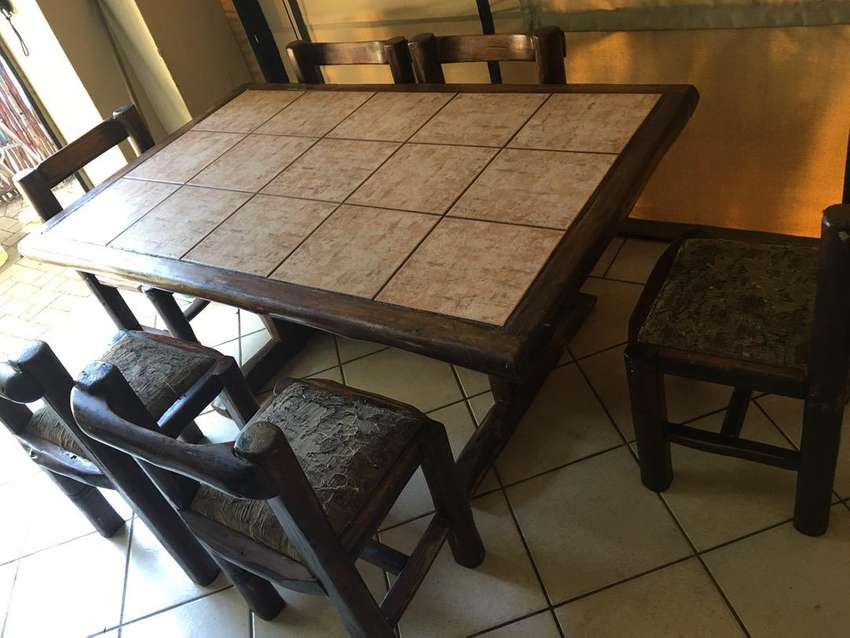 Solid Wood Dining Table 0