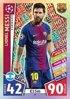 Karty Champions League 2018 match attax Barcelona