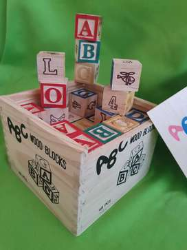 ABC cube with block