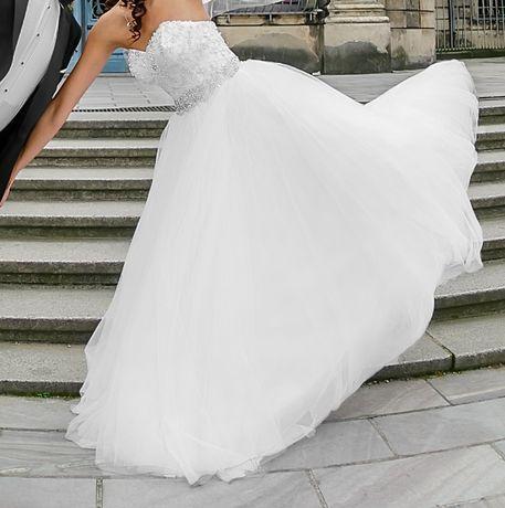 Suknia ślubna Justin Alexander 8724 rozm. 34 Strzelce Opolskie - image 5
