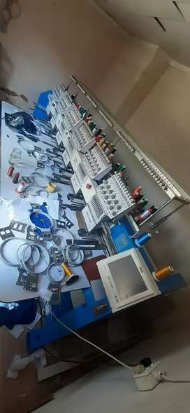 Selling a 6 head embroidery machine