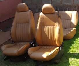 Alfa 147 leather seats