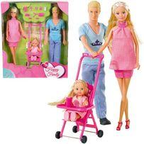 БЕСПЛ.ДОСТАВКА Куклы Simba Family Счастливая семья Штеффи 5733200