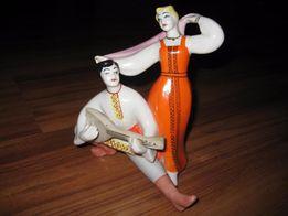 фарфоровая статуэтка Плясуны