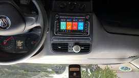 """Vw 7"""" Touch Screen Radio and Accessories."""