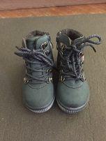 НОВЫЕ Ботинки для мальчика 22 р. (cтелька 14 см)