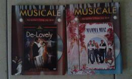 "Musicale DVD z książką"" Mamma Mia"" i ""De-Lovely"""
