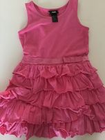 Sukienka falbanki H&m 98 104