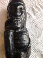 Figurka z drzewa hebanowego rarytas ręcznie robiona Przesyłka gratis!