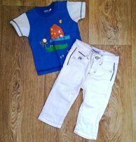 Белые джинсы Primigi р.74-80