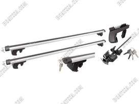 (NN) ROOF RACK OVAL ALUMINIUM WITH LOCK SET 135CM