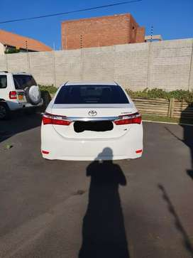 2019 model Toyota corolla prestige 1.6 top of the range