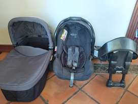 Graco Evo trio travel system incl Isofix