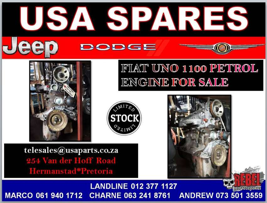 FIAT UNO 1100 PETROL ENGINE FOR SALE 0