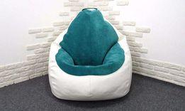 кресло мешок груша гибрид бескаркасная мебель для гостиной, детской Ки