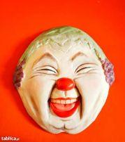Maska wenecka na ścianę unikatowa oryginalna