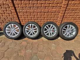 Golf 7 1.4 mags and tyres for sale