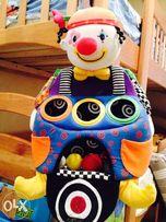 Суперский клоун-сортер с мячиками