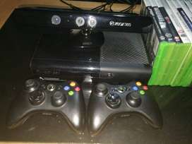 XBox 360, Kinnect, two controllers