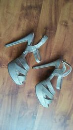 Sandałki 40 / 41 obcas 15cm
