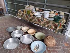 Vintage kitchen ware