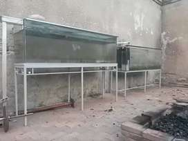 Fish/reptiles tanks for sale R1000  for both with stands
