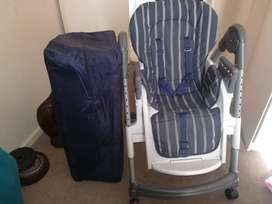 feeding chair open to offers