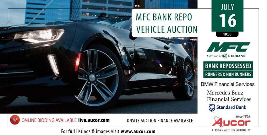 Durban MFC Bank Repo Vehicle Auction 0