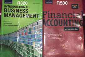 Bcom Accounting 1st year textbooks for sale