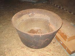 Казан, котел чугунный диаметр 60 см, высота 36 см, толщина 10 мм